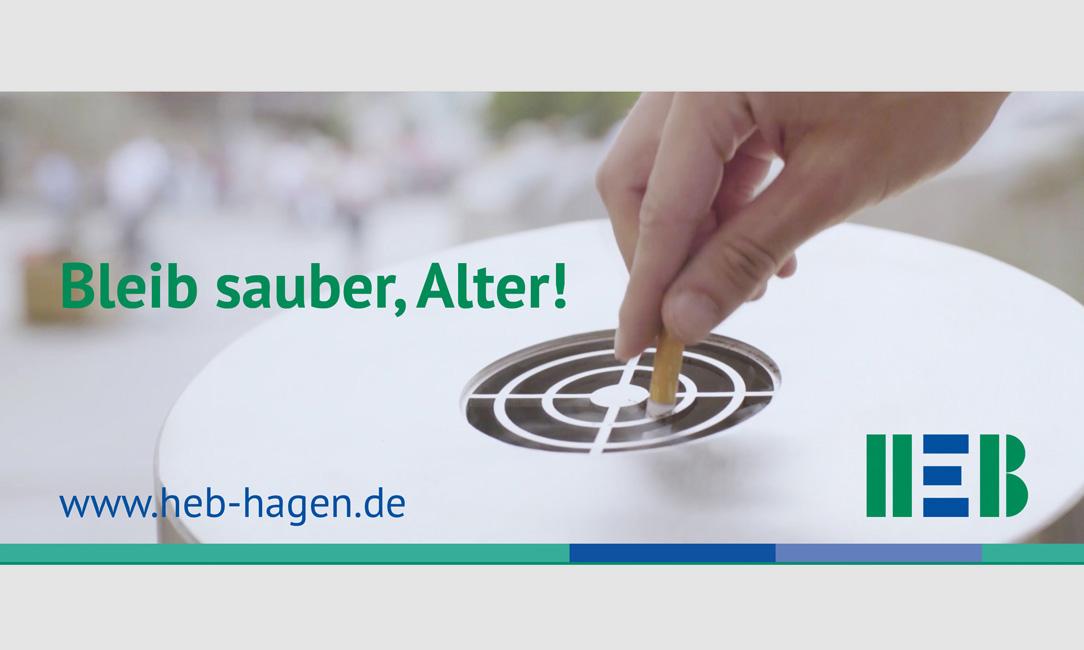 HEB – Bleib sauber, Alter!