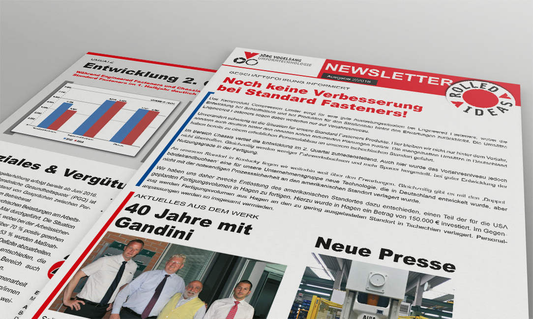 Vogelsang Newsletter