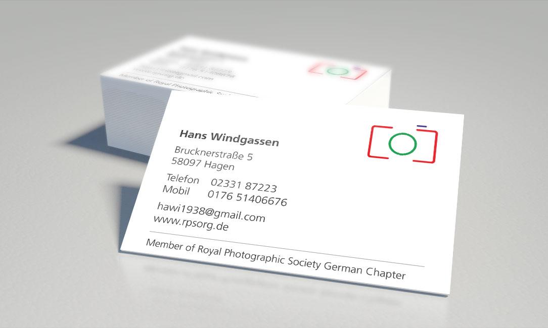 Fotograf Windgassen – Visitenkarte