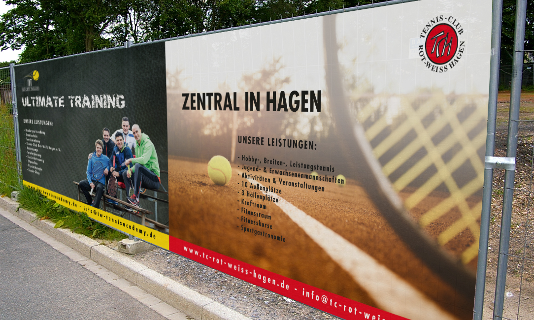 Poster XXL – Ultimative Werbung für ultimatives Training.