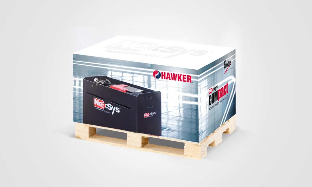 Hawker Palettenblock