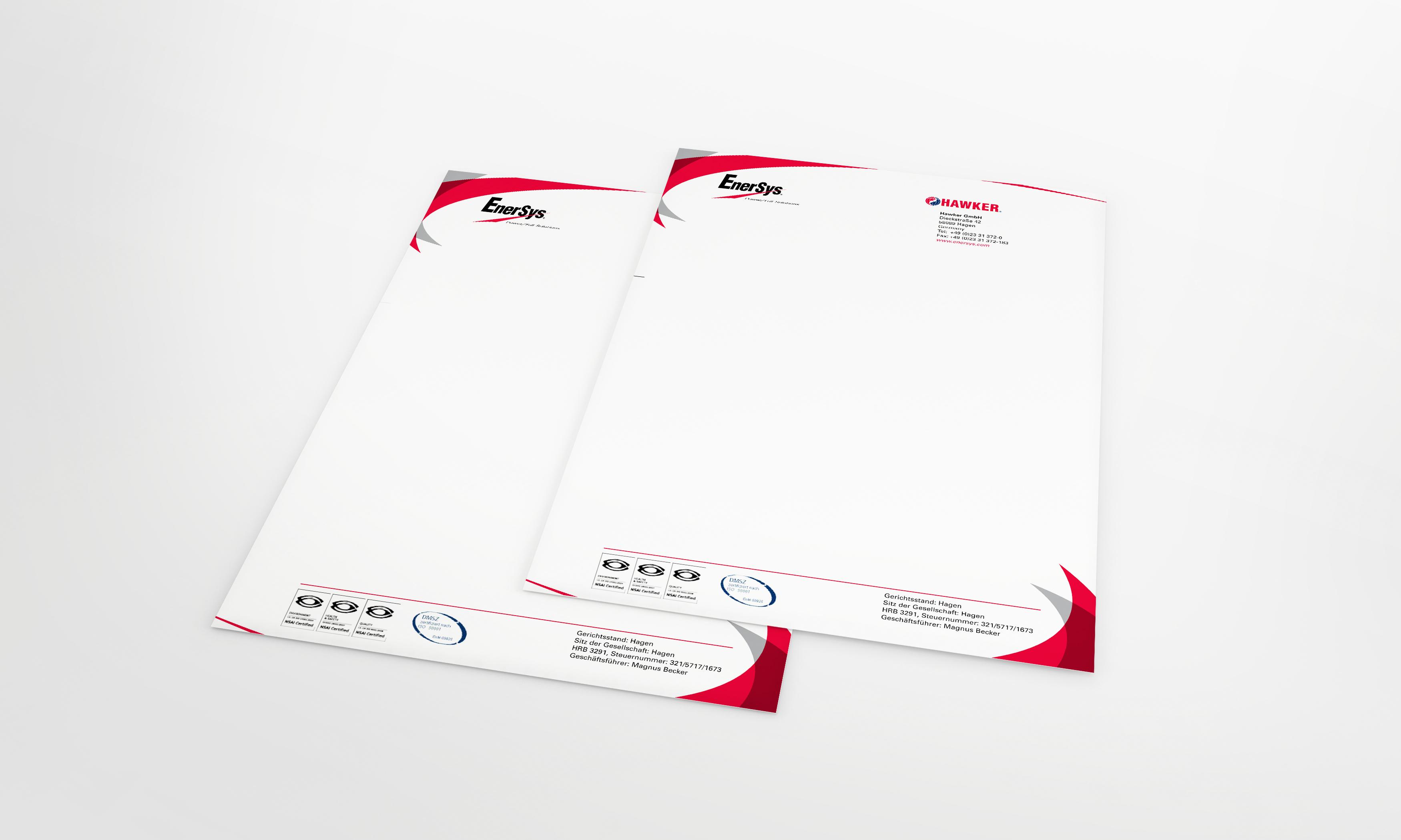 Hawker Einladungsbogen zur LogiMAT