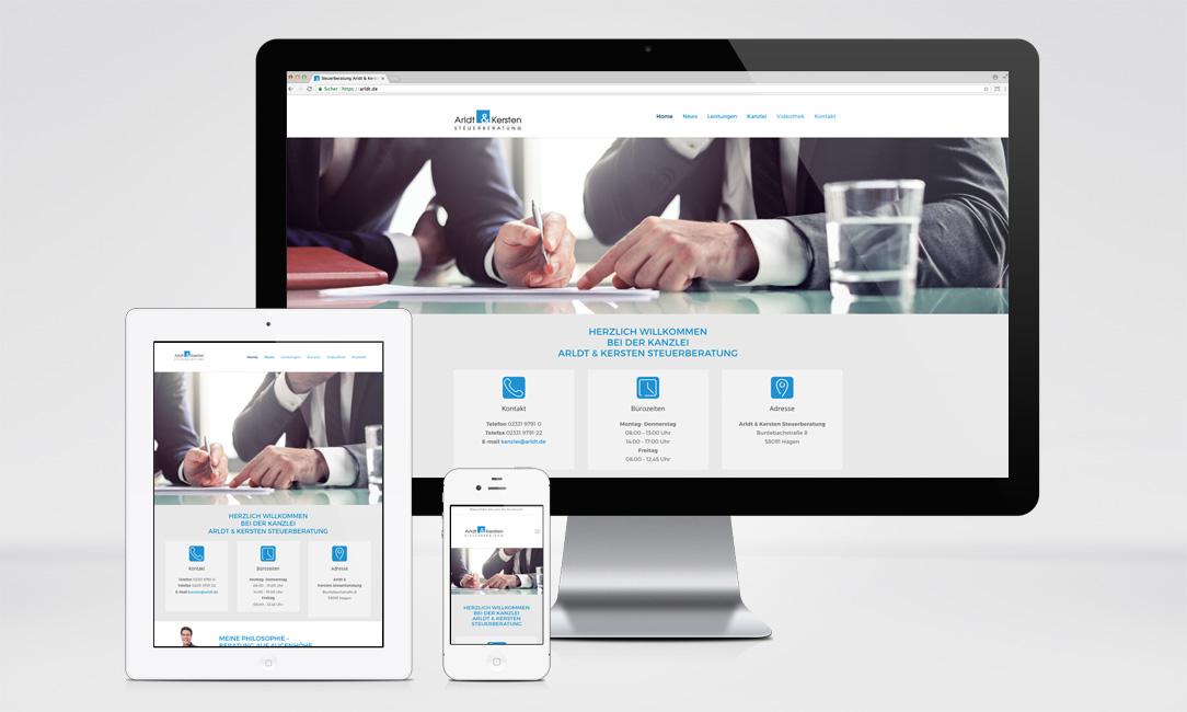 Arldt & Kersten Website