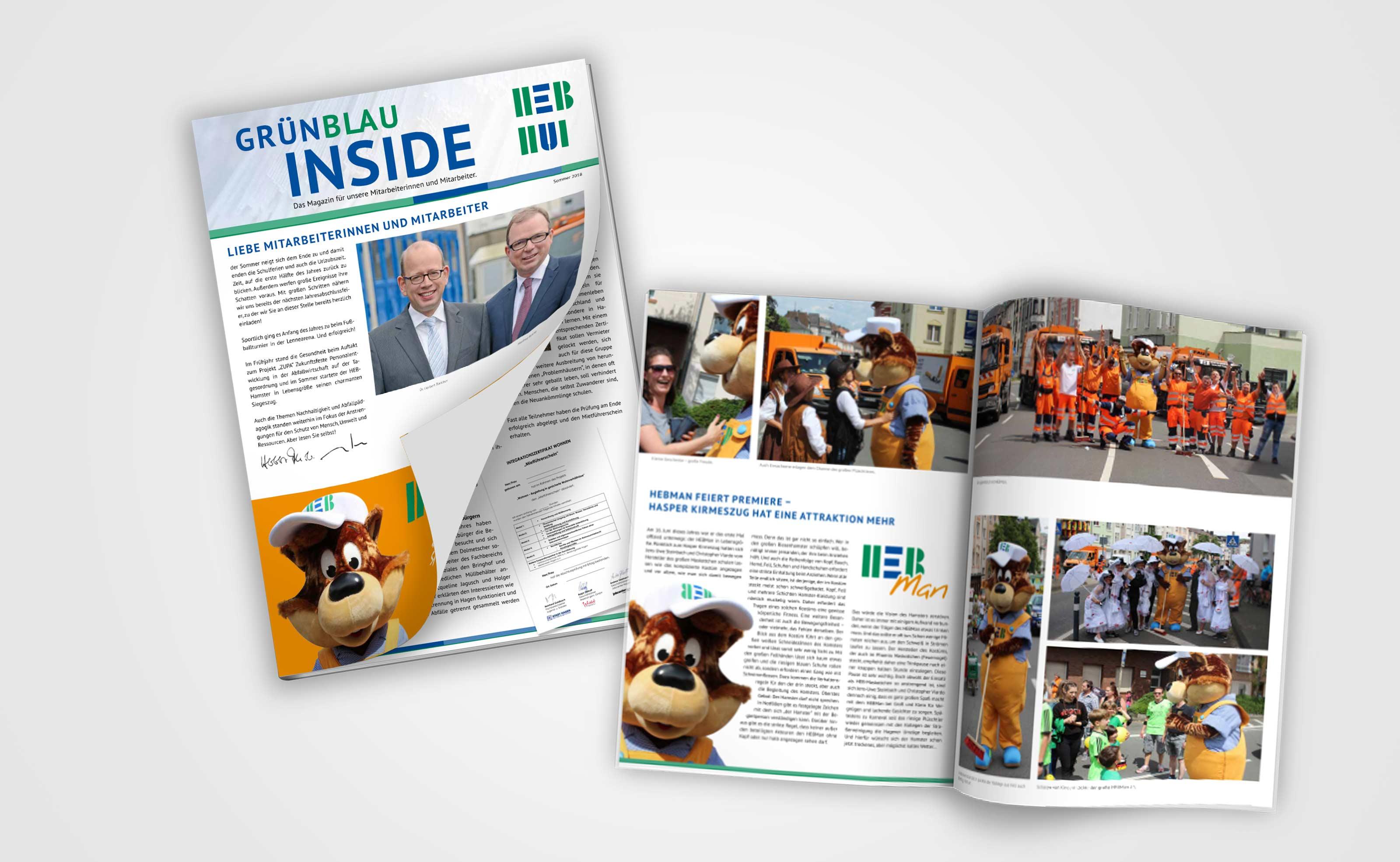 HEB HUI – GrünBlau Inside