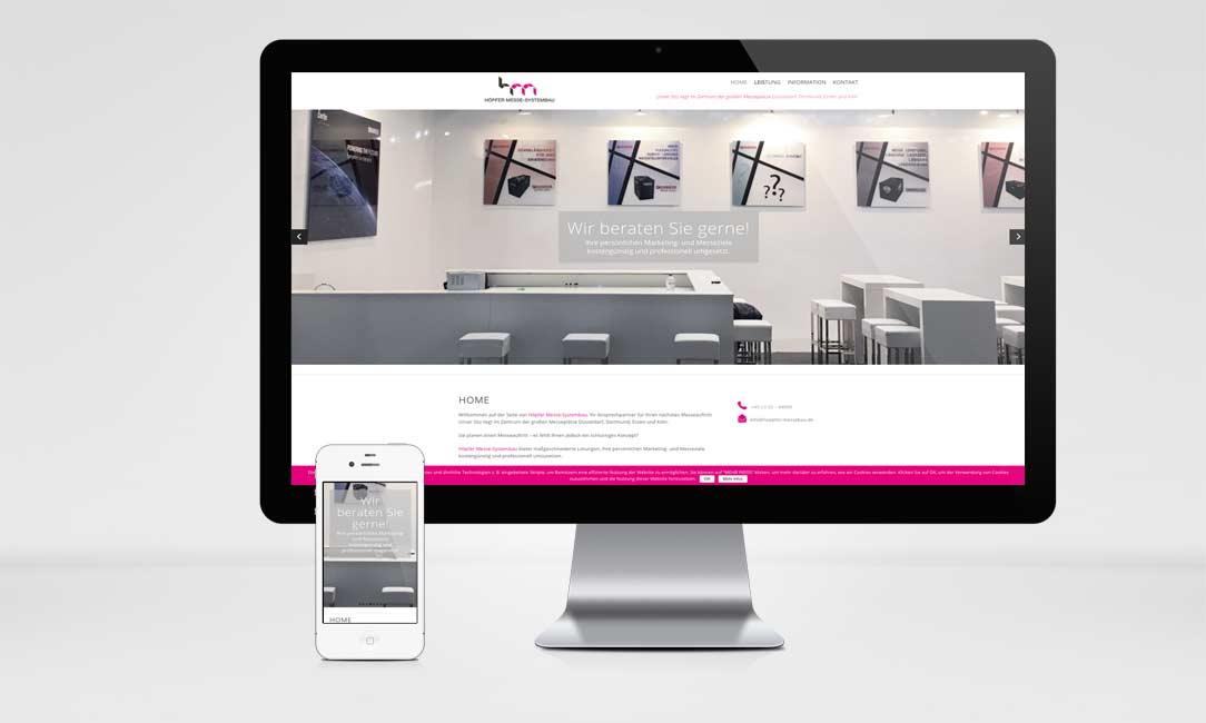 Höpfer Messebau Website