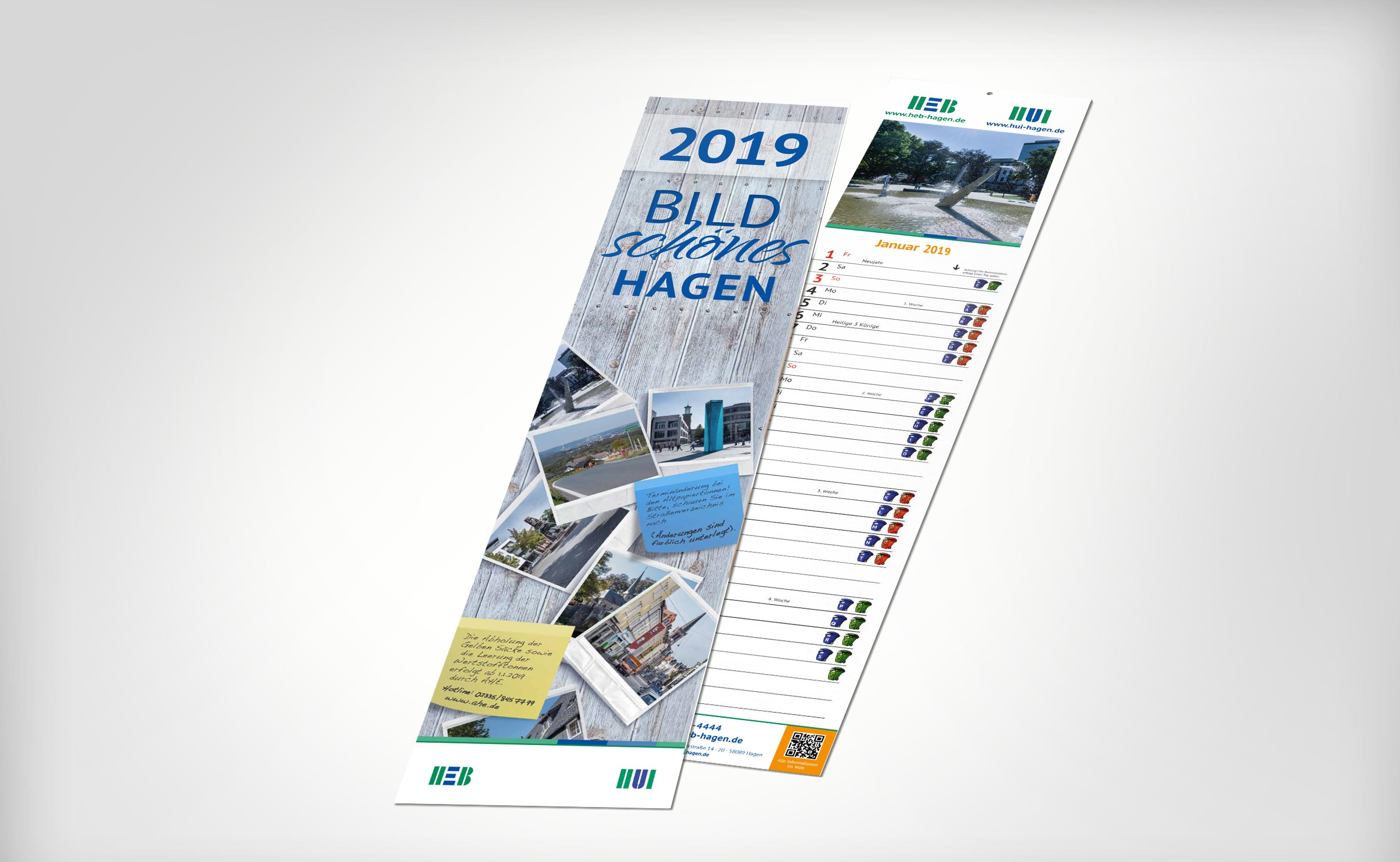 HEB Abfuhrkalender 2019